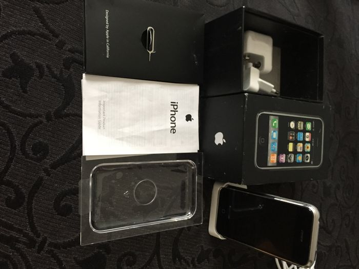 apple iphone 2g 8gb model a1203 first generation iphone rh auction catawiki com manual iphone 4 reset iPhone 1