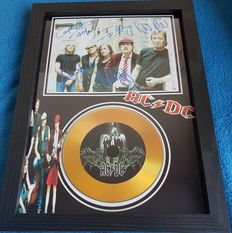 AC/DC Framed CD