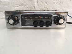Ten - classic car radio with chrome front - AT-96-2 - TEN car radio, Kobe Industries Corporation (Japan)