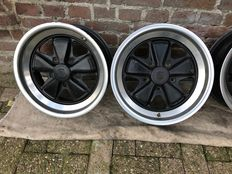 Porsche - Original Fuchs 16 inch rim set for Porsche 911 or 944