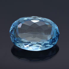 Swiss blue topaz – 39.42 ct