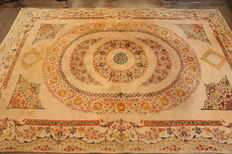 Hand knotted Kirman - Persian - 420 x 300 cm - Second half 20th century