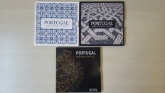Portugal, year pack 2009, 2010 and 2011 (three pieces in total).