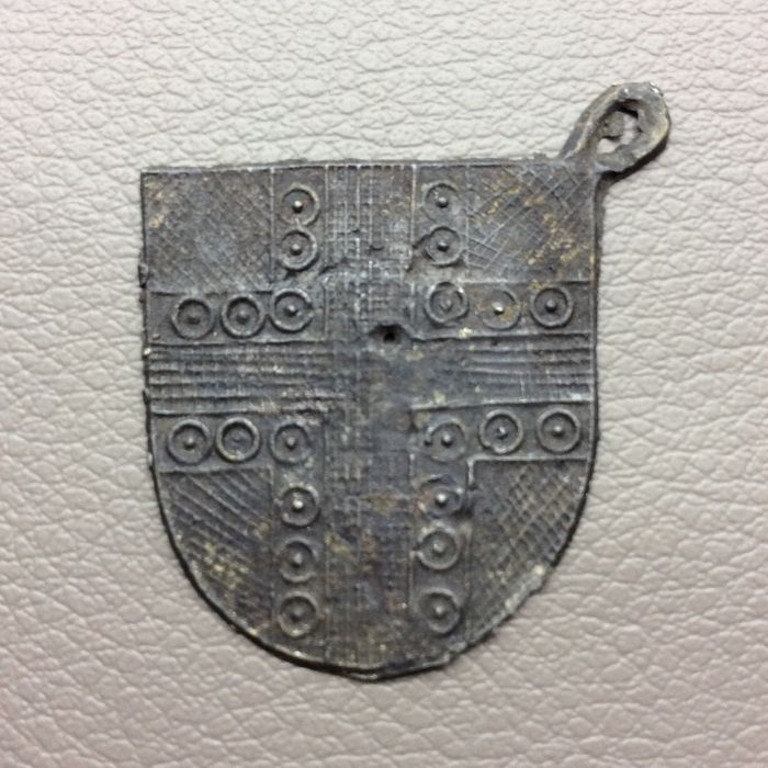 Medieval Pewter Pelgrim badge