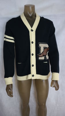 Polo shirt by Ralph Lauren - knitted cardigan