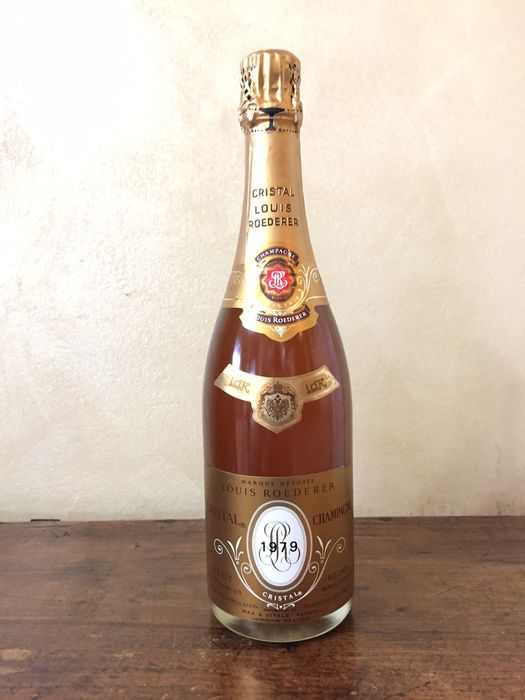 1979 louis roederer cristal brut champagne 1 bottle 75cl catawiki. Black Bedroom Furniture Sets. Home Design Ideas
