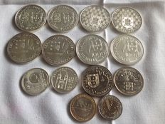 Portugal - 14 Commemorative Coins - 1986 to 1996 - Lisbon