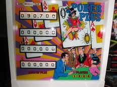 Poker Plus Pinball Machine from 1977