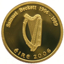 "Ireland – 20 Euro 2006 ""Samuel Beckett"" – gold"