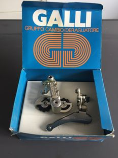 Galli - bicycle gear, derailleur and brakes - 1950s
