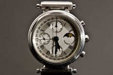 Forget - Series A Moonphase Indicator Chronograph - Men's Timepiece