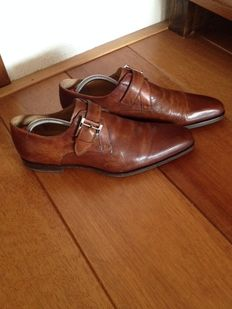 Magnanni - men's shoes with buckles