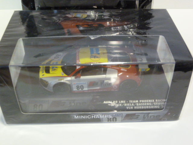 Minichamps - Scale 1/43 - Lot with 3 models: 3 x Audi R8 LMS ...
