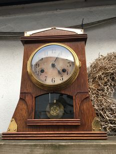 Table clock, 1920's, converted to a battery clock