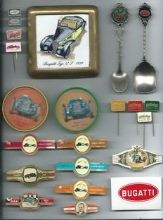 Bugatti 40 various Rare Collector's items