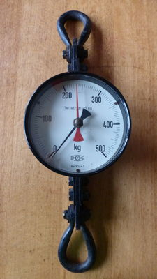 Weighing scale up to 500 kilos