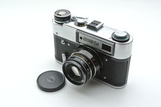 FED-5B with Industar-61 L/D - Rangefinder camera from USSR (1980's)