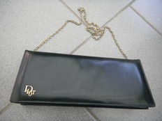 Christian Dior - leather clutch or evening bag - 1960s