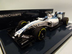 Minichamps - Scale 1/43 - Williams Martini Racing Mercedes FW37 #77 Abu Dhabi - 2015 -  Valtteri Bottas