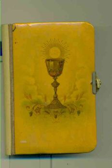 Old Missal of 1899 - complete -  golden with fine gold