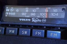 Volvo - Clarion stereo classic car radio - 1980