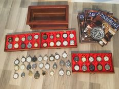 Hachatte pocket watch collection