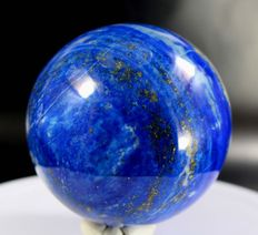 Hand-polished Lapis Lazuli - 62mm - 432gm