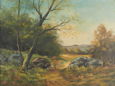 Length: Henry (19th-20th century) - Wooded landscape