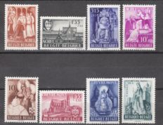 Belgium – Collection of stamps and series on individual pages – between OPB 273 and 1120