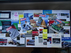 Opel - 1965-2006 - 50 Documents - Rekord, Olympia, Senator, Calibra, Maxx, Manta, Commodore, Diplomat, Admiral, Speedster, Kadett GSi, Vectra i500, Ascona, Tigra, Corsa Spider, Astra Cabrio, etc etc - Mixed lot of 50 original sales brochures & other memor