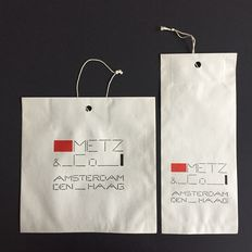 Bart van der Leck for Metz & Co. – paper bags