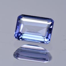 Purplish blue Tanzanite 1.79 ct