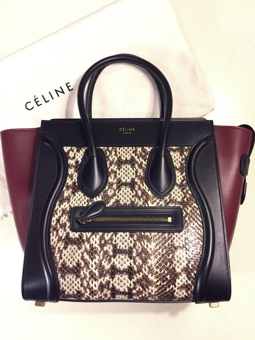984b7797892a Céline - Micro Luggage handbag   Special Edition - Catawiki