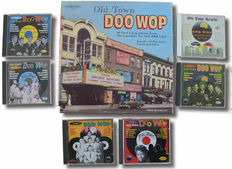 Old Town doowop on 3 LP box set and 6 CD's