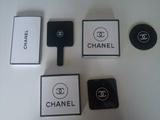A lot of three hand mirrors by Chanel