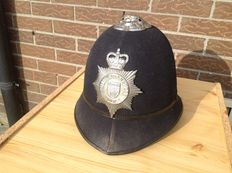 Bobby Helmet - British transport Police - Old & Original item