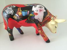 Cow Parade - Hommage to Picowso's African Parade - Medium