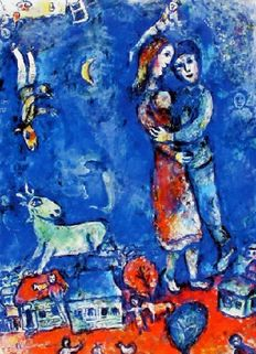 Marc Chagall (after) - Droomdanser