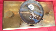German compass mounted on a base from the 19th c.