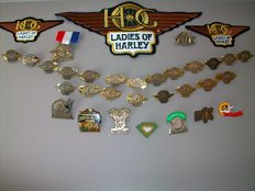 Harley-Davidson - Ladies of Harley - Patches & Pins - 1994 to 2014