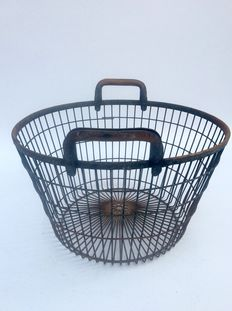 Big old metal basket