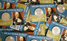 "The Netherlands - 5 Euro 2007 ""Michiel de Ruyter"" (100 pieces) silver in coin cards"