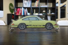Table Painting on plexiglass - Porsche 2.7 RS