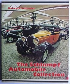 Car; Lot with 4 works about cars – 1975/1978 - MGA, MGB, MGC, Schlumpf collection, German and British cars 1940s to 1960s