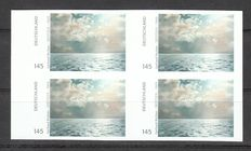 Federal Republic of Germany 2013 - Gerhard Richter seascape, imperforate in a block of 4 - Michel 3021 U