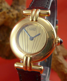 Cartier Must  Vermeil – women's watch
