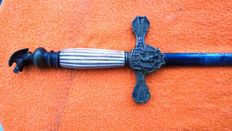 Sword of Knight of the Masonic Lodge. UNITED KINGDOM.