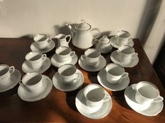 Gian Marco Venturi - tea set in Limoges paste