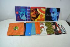 Gigi d' agostino - lot of 20 Records (of wich 3 colored LPs)