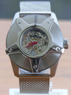 Graf von Monte Wehro Skeleton – Men's wristwatch
